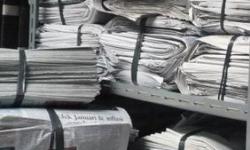 10 Fungsi Lain dari Kertas Koran yang Jarang Kalian Ketahui