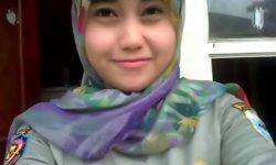 Foto-foto Cantik Satpol PP Nurul Habibah