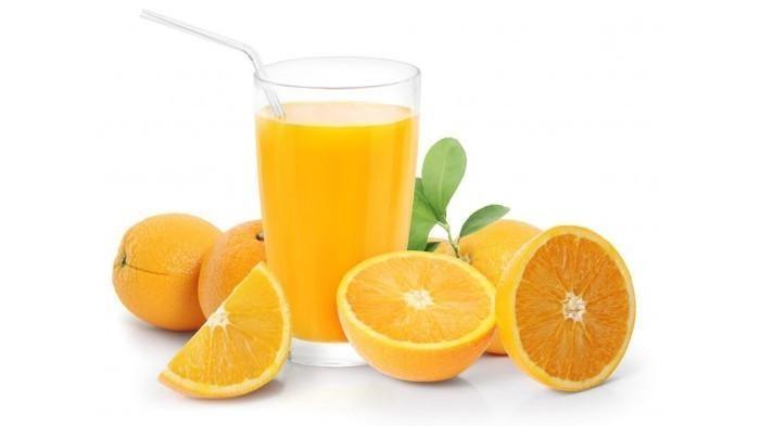 jus buah jeruk
