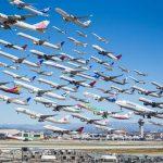 Foto-foto Ini Menggambarkan Betapa Padatnya Lalu-Lintas Udara di Bandara Besar Dunia